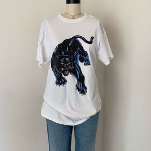 Brandy Melville bad kitty panther T-shirt NWOT